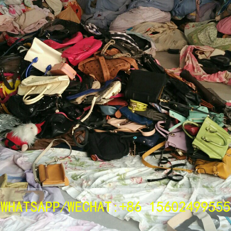 Guangzhou Used bags second hand bags Grade A