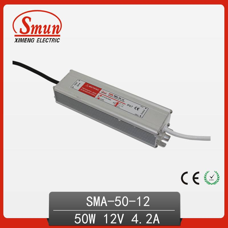 waterproof single output IP67 constant current led driver pwoer supply
