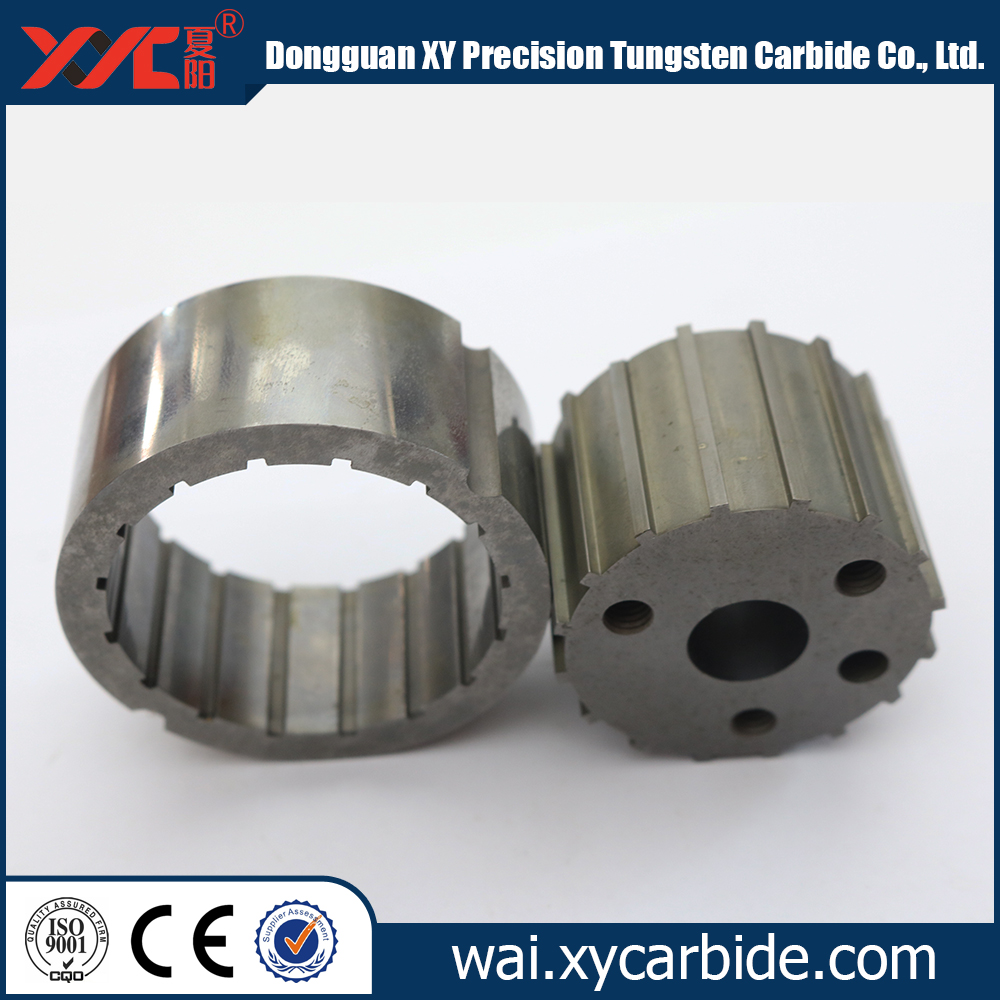 cutomized components in hardmetal / tungsten carbide