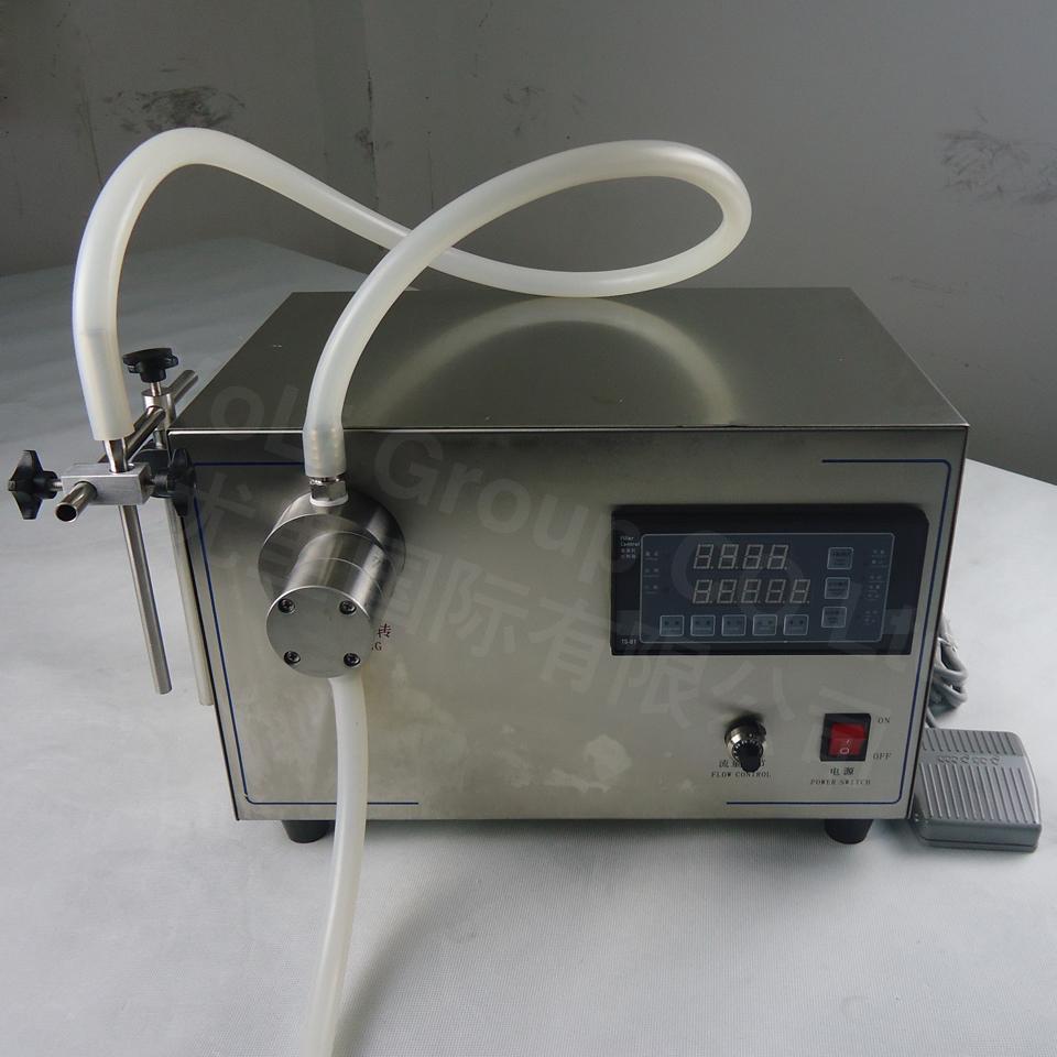10L/min magnetic pump Digital control water perfume oil liquid filling machine