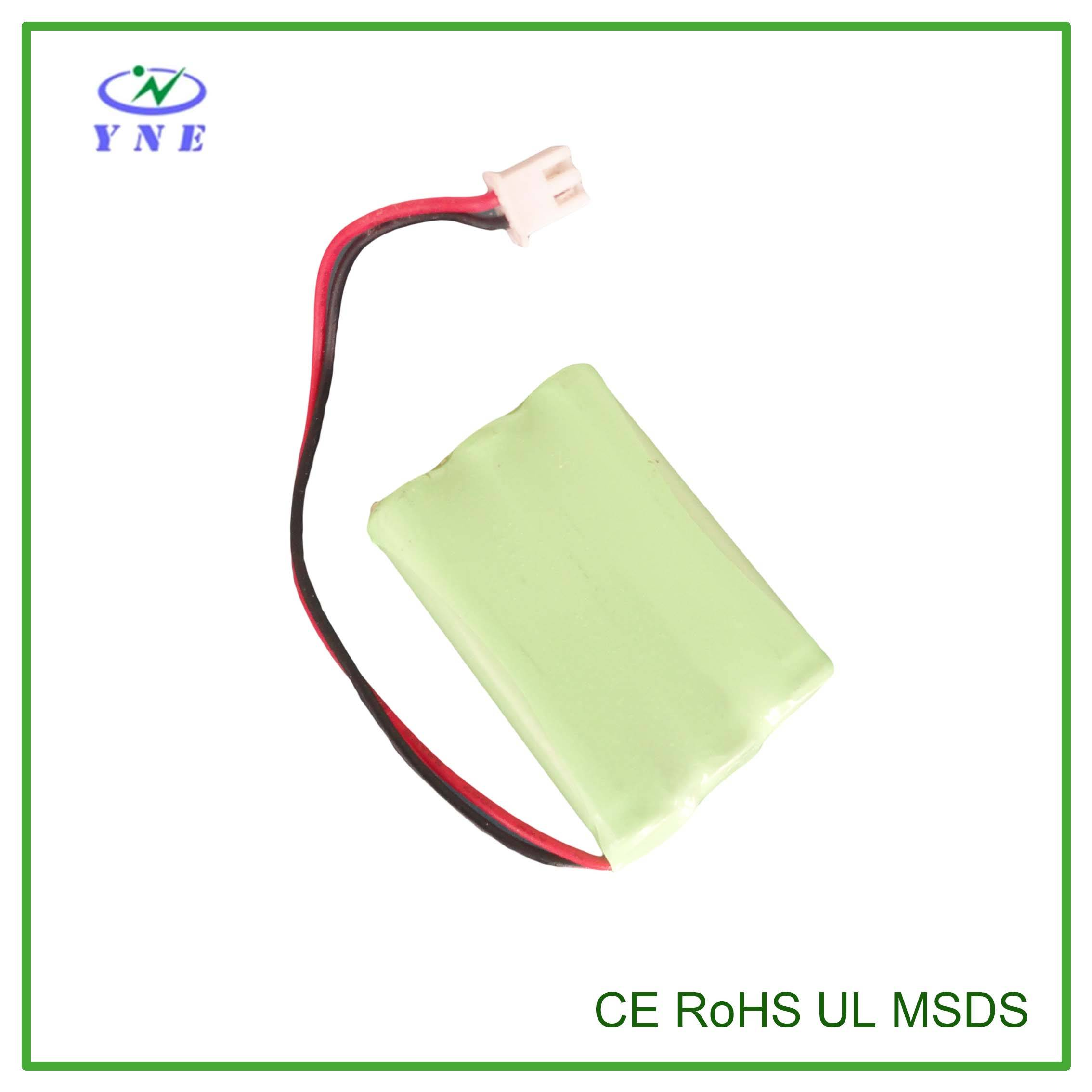 AAA 3.6V 1000mah Ni-MH Rechargeable Battery