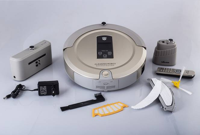 portable Remote Controller robot vacuum cleaner