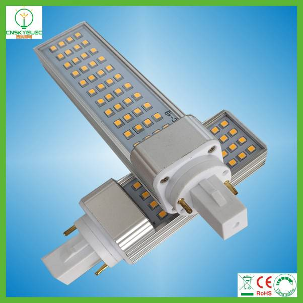 85-265V 6W 8W 10W 12W Aluminum LED G24 Plug Light G24 LED Light LED Pl Light