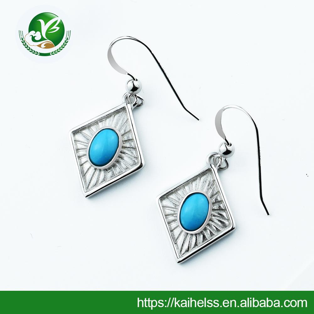 925 sterling silver ruby corundum gemstone oval cut prong set earring