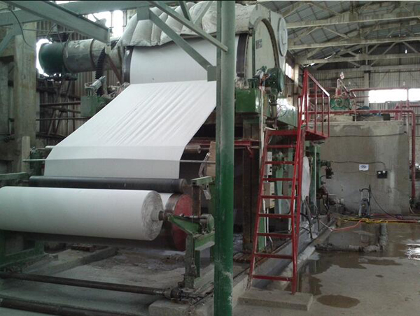 1575 Cylinder Mould toilet tissue Paper Making manufacturing Machine