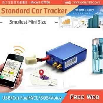 Mini 3G GPS Car Tracker with 3D motion sensor/SOS/Voice/Fuel cut