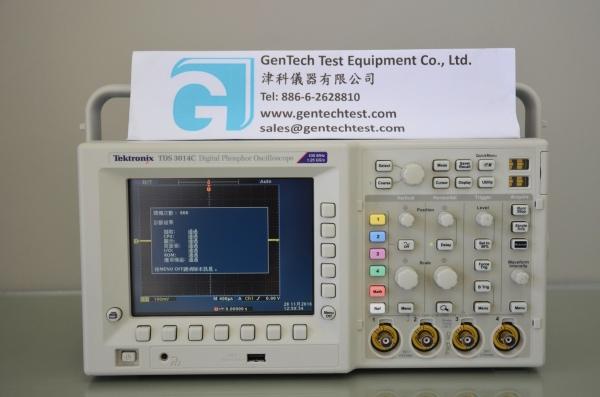 Tektronix TDS3014C 100 MHz 4-Ch Digital Phosphor Oscilloscope