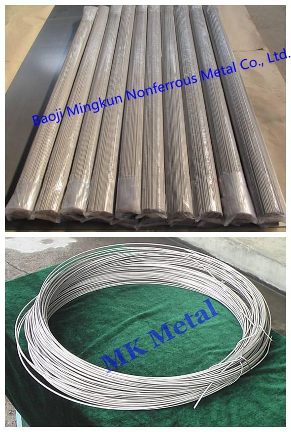 ASTM F67, ASTM F136, ASTM B863 titanium and titanium alloy wires