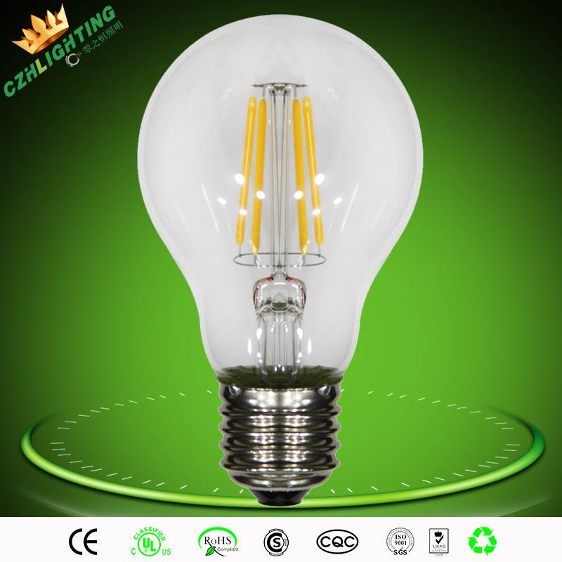 E27 tungsten lamp 50000hs 4w led light bulb with clear cover