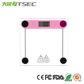 Ultra Thin 6mm Tempered Glass Digital Health Mechanical Bathroom Body Scale