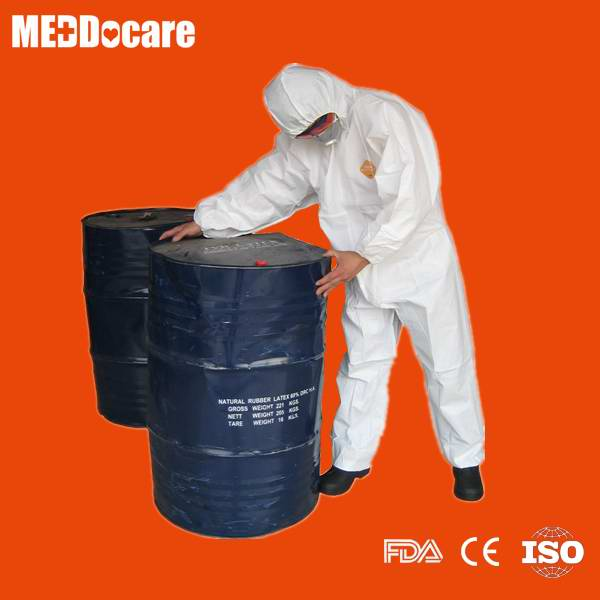 Sell chemical resistant overalls with hood