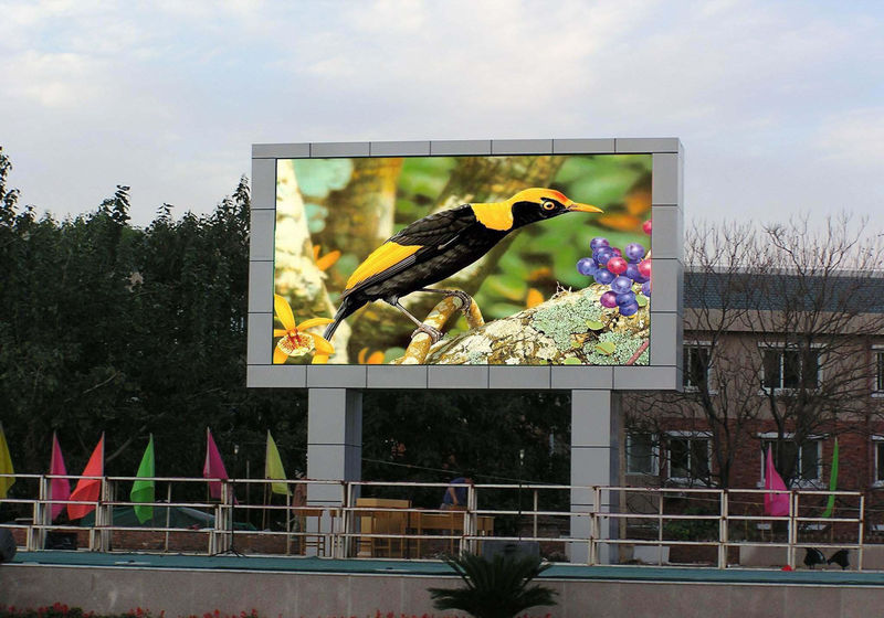 New design P6 Hot sales full color 1R1G1B outdoor waterproof LED advertising display