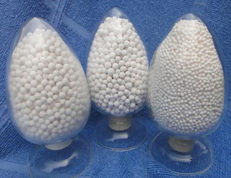 Activated alumina dechlorination agent