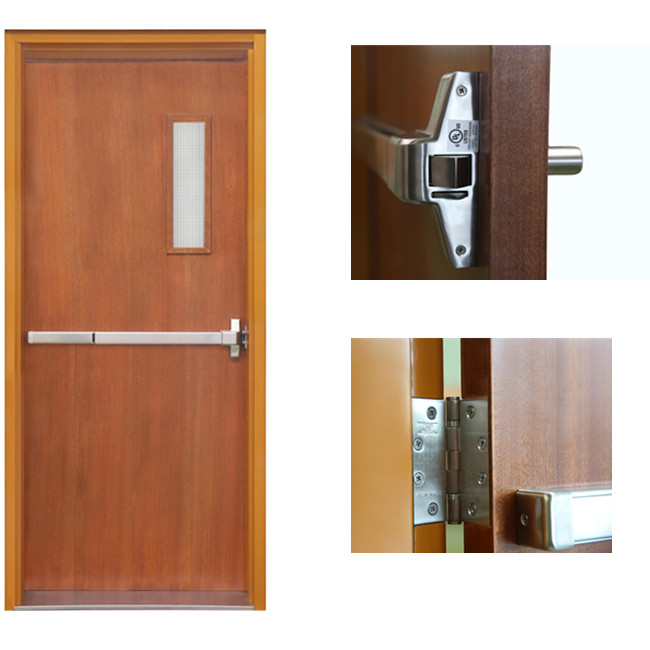 20 mins wooden fire door UL listed