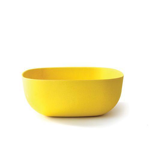 Reuseable Square Plant Fiber Food Salad Bowl
