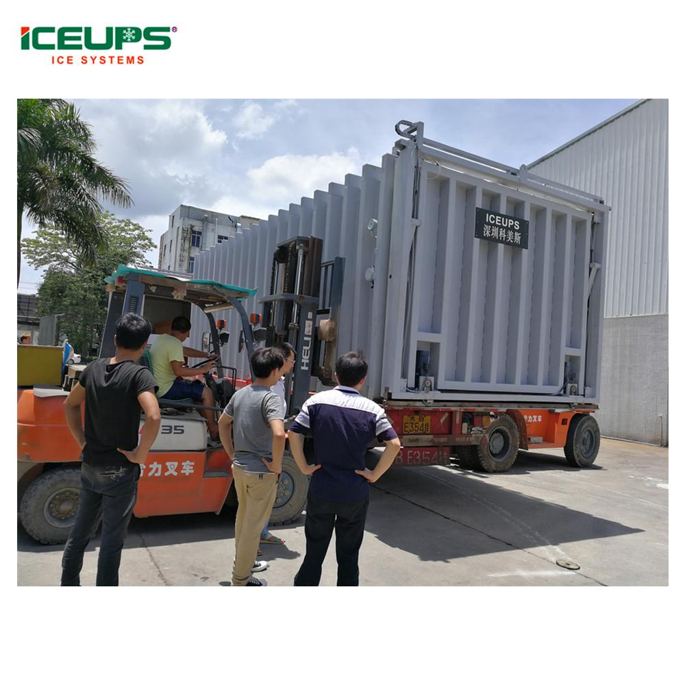 Automatic vacuum cooling machine plant