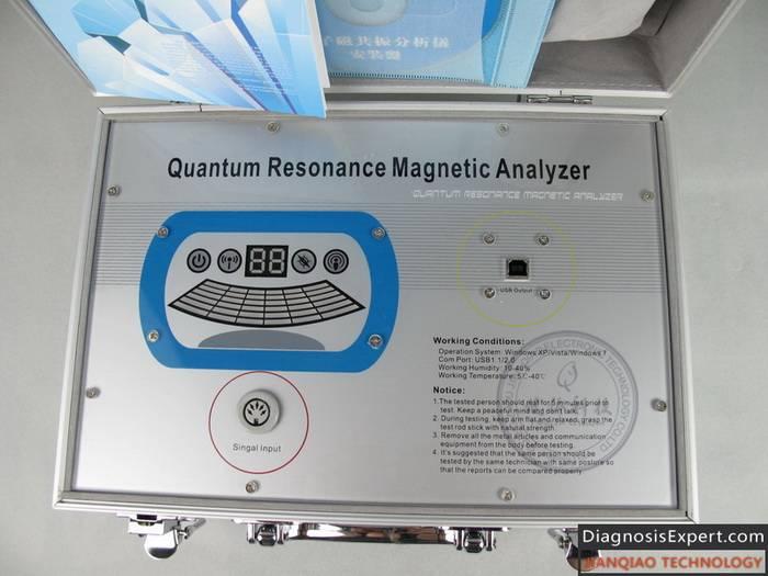 Quantum Resonance Magnetic Analyzer QMA101 With English Version