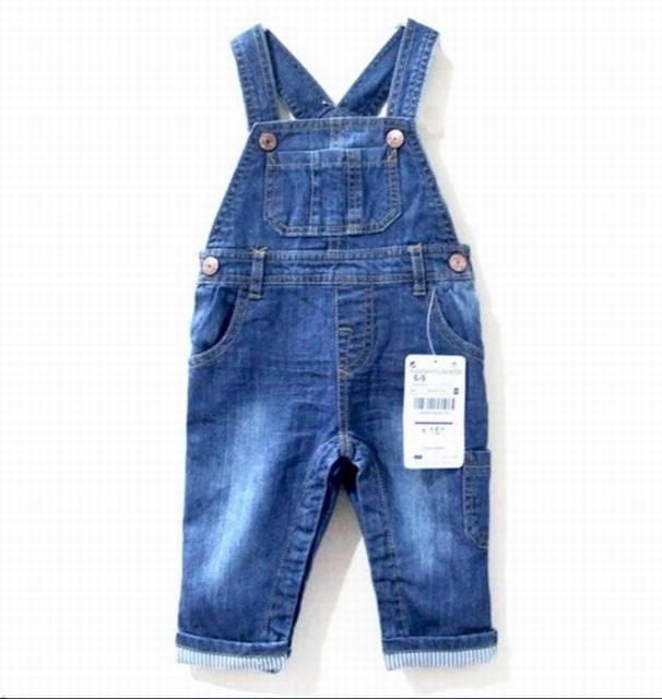 Fashion children's overalls suspender pants