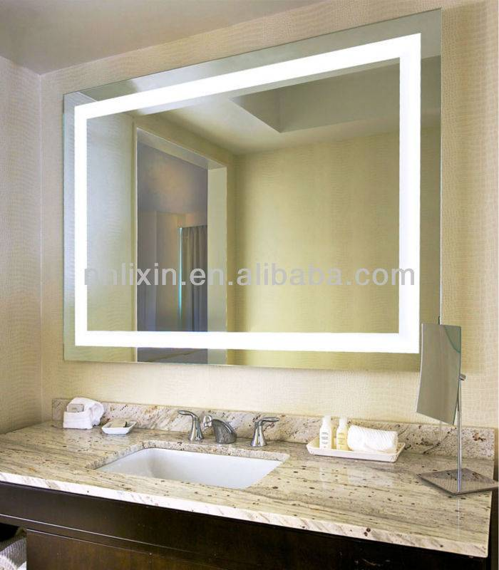 2015 Modern Design Wall Mounted Backlit LED Mirror