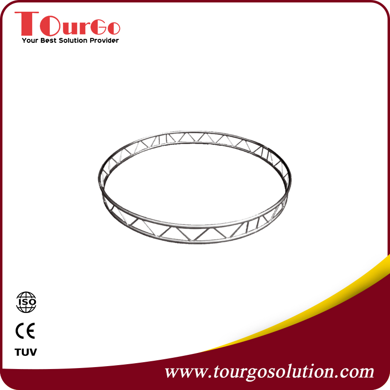Flat Aluminium Circle Lighting Truss System Diameter 3m
