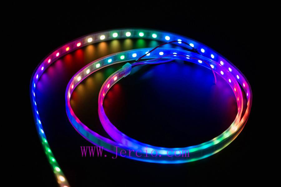 Jercio LED 60-L-60 Strip Lights Color Changing LED Strip Lights,it can replace WS2811 APA102 or SK68