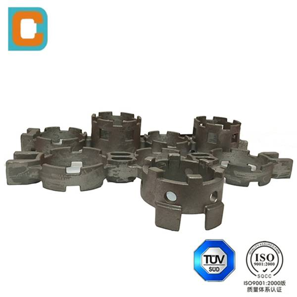 Steel material Investment casting for heat resistant processing