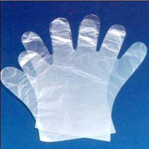 Best Selling disposable HDPE plastic glove by manufacturer