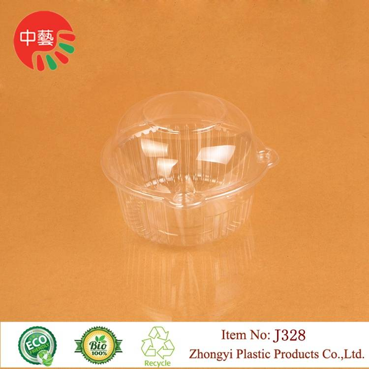 takeaway disposable blister plastic food container with lid