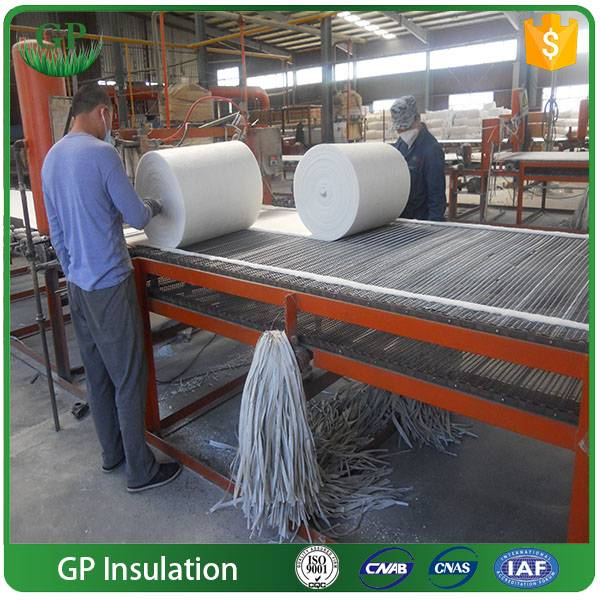 thermal insulation ceramic fiber blankets for refractory