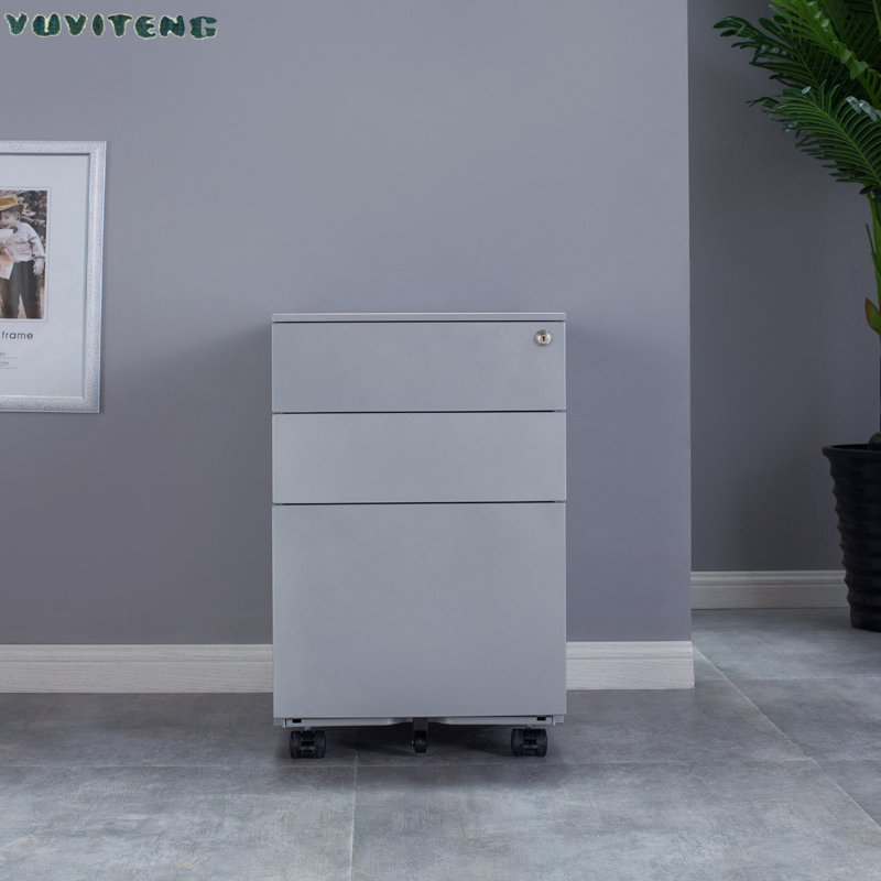 Office 3 Drawer File Storage Cabinet