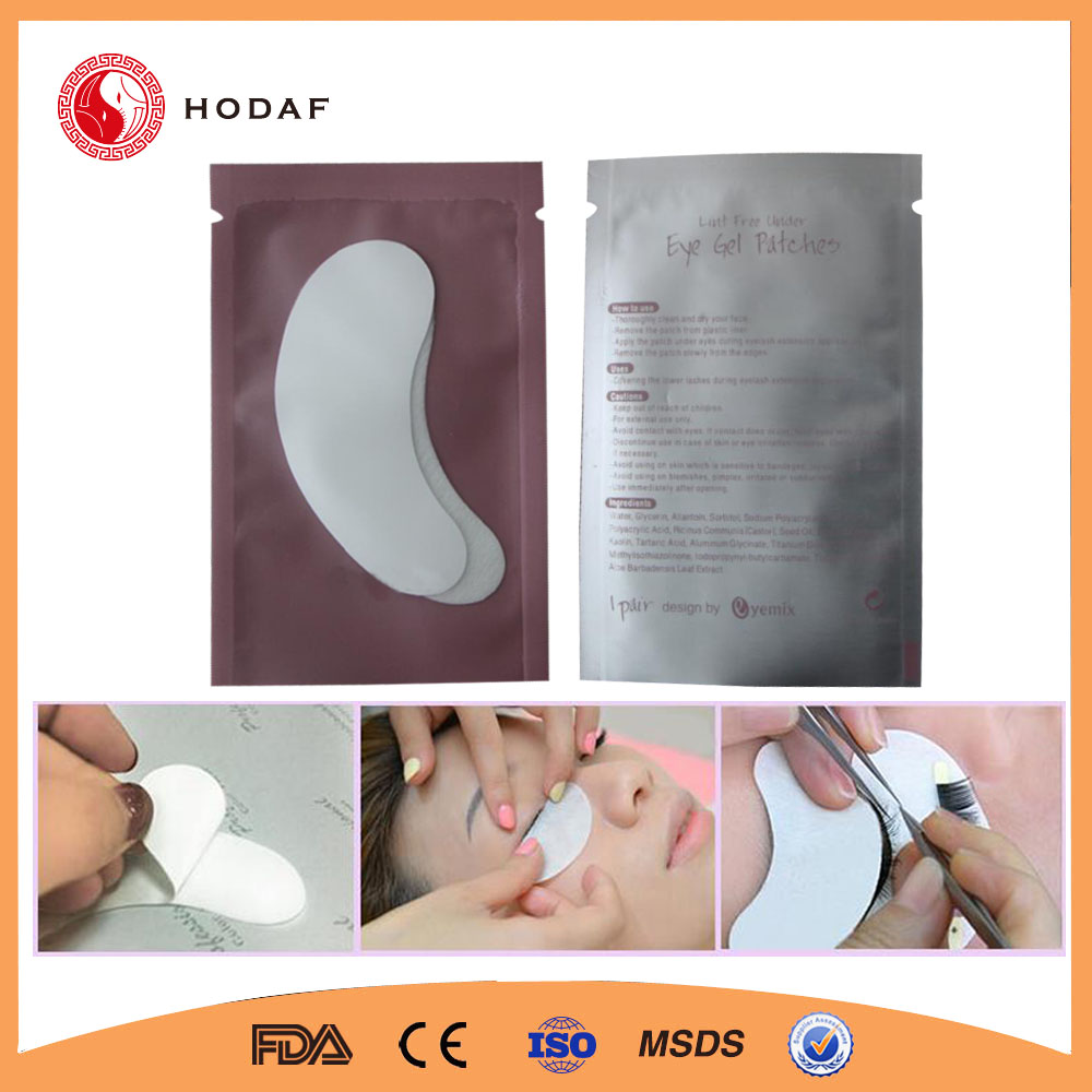 OEM Service Lint Free Eye Gel Patch for Eyelash Extension Tools