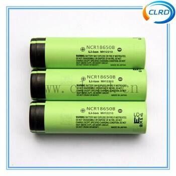 CLRD Genuine NCR18650B 3400mah 3.7v rechargeable battery for Panasonic