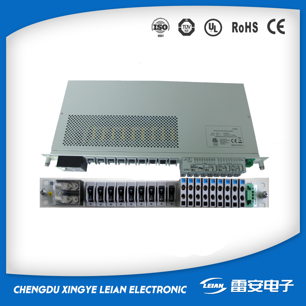 48V 1U 19 in rack DC power distribution equipment