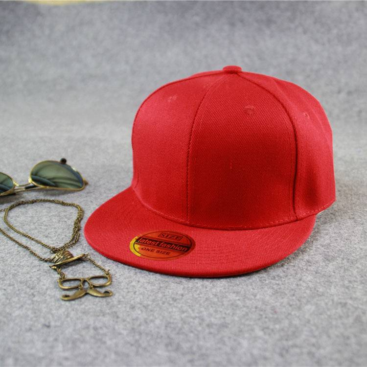Cheap New Fashion Hip Hop Cap Flat Bill Snapback Hat Factory Direct Supply