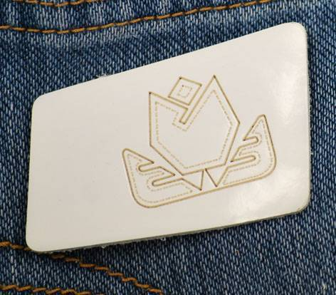 fashion leather patch for garment