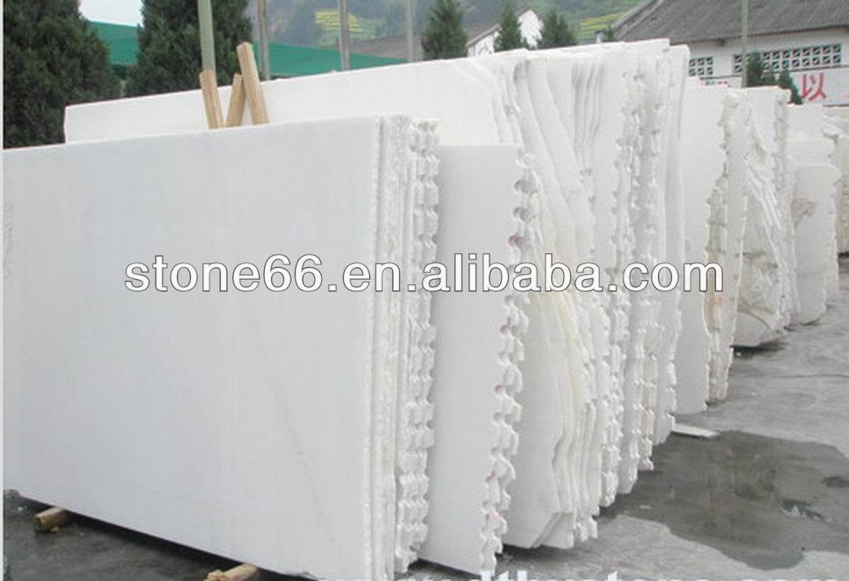 Pure white marble from China Original