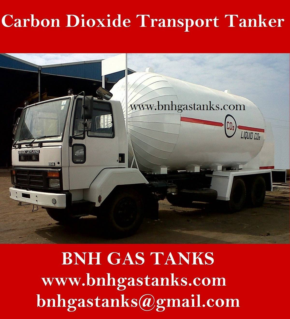 Carbon Dioxide Transport Tanker