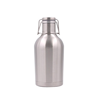 Chinese supplier double wall stainless steel water bottle with handle