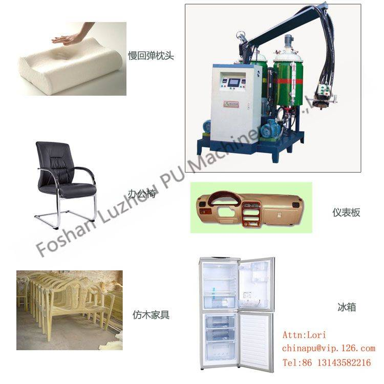 High pressure Polyurethane Injection Pouring PU foaming machine
