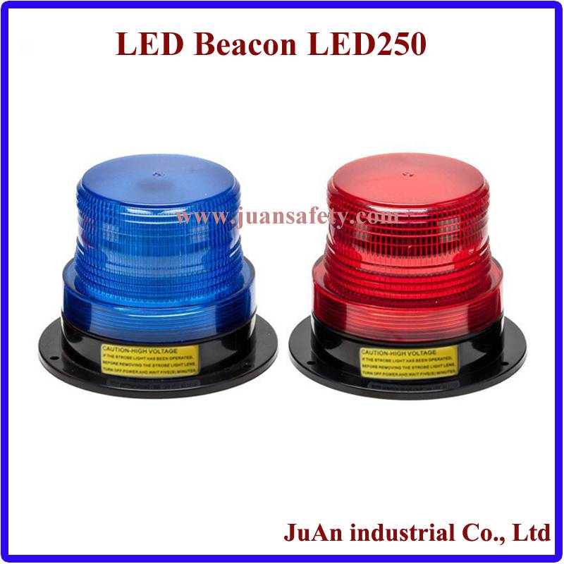 1W hot led waterproof strobe beacon light for ambulance cars with CE LED250