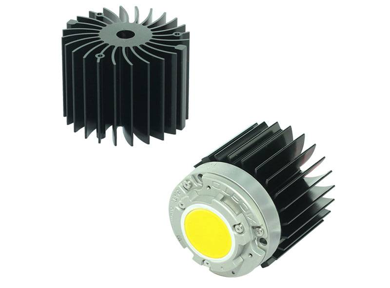 Xicato XSM LED module COB passive LED star heat sink ø50mm XSA-02-N-B