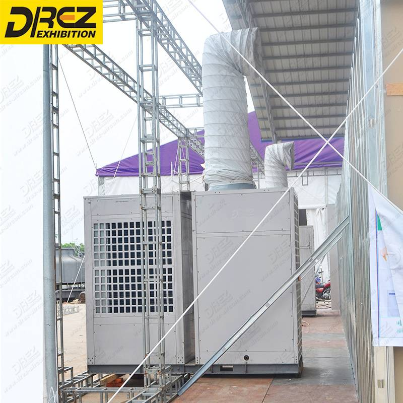 Drez 20 ton Eco-Friendly Outdoor Air Conditioning Ductable air conditioner for Wedding Party