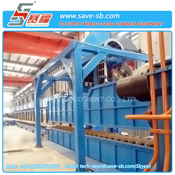 SAVE Intensive air and water spray quenching equipment For Aluminum Extrusions