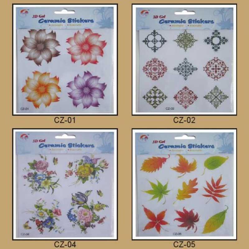glittle tiles sticker for floor home deco sticker bathroom tile sticker