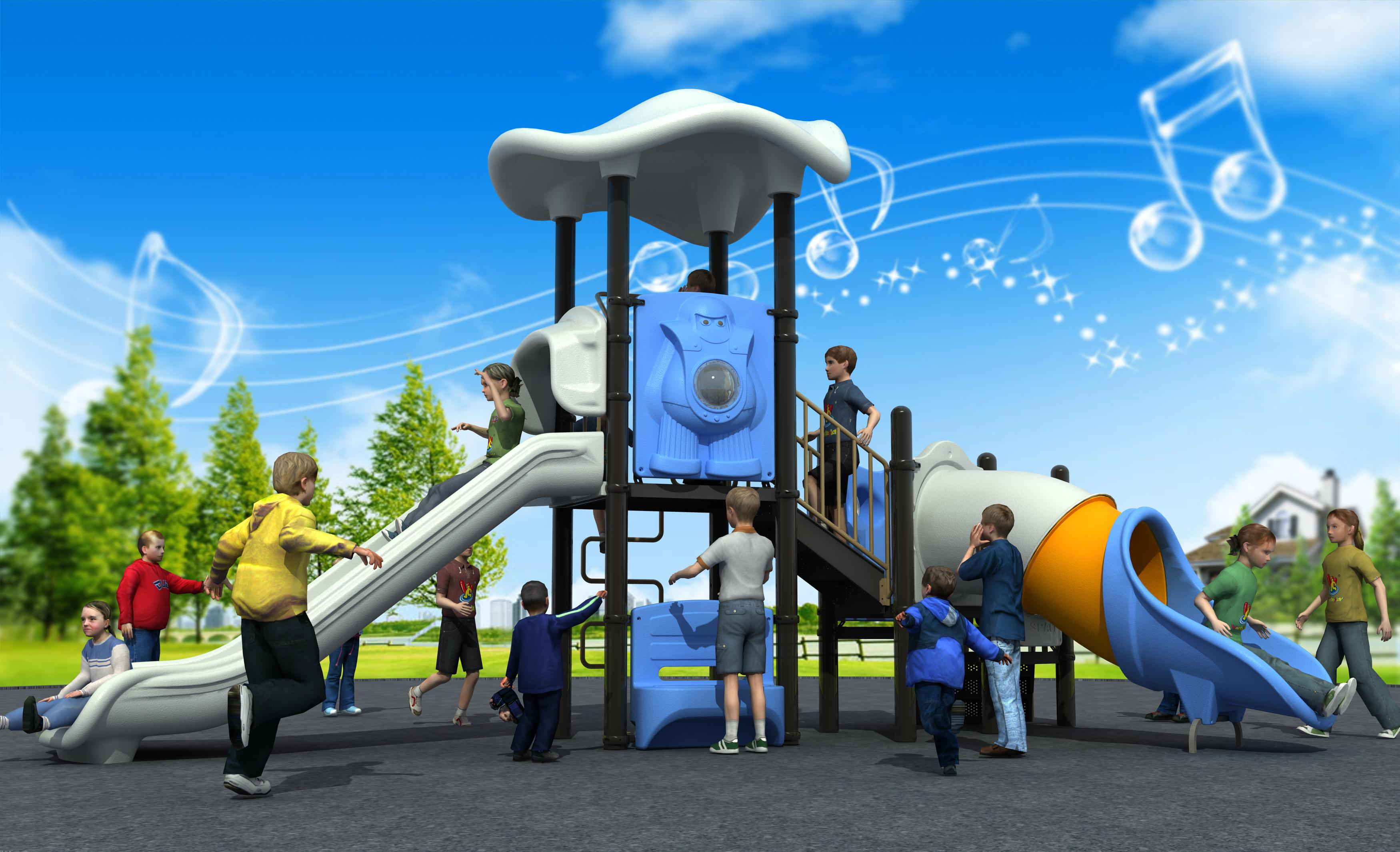 Newly Design Outdoor Playground Equipment Outer Space Series WD-UT172