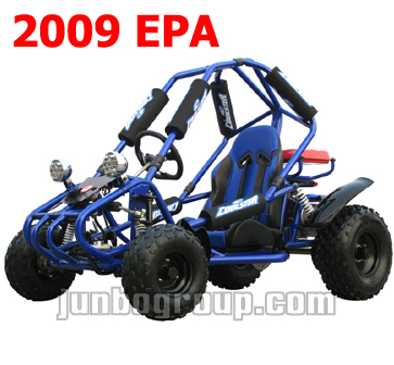 Go Kart 110cc Ful Automatic with Reverse Gear with 2009 EPA