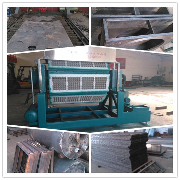 industrial package pulp molded machine semi automatic high efficiency