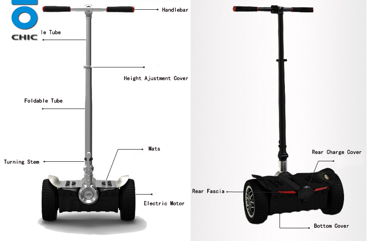 Foldable hoverboard self balancing scooter Self Balancing Scooter / Hoverboard, Classic Smart