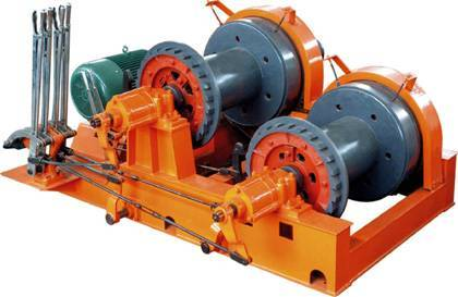 Hoist winch for Gantry Crane