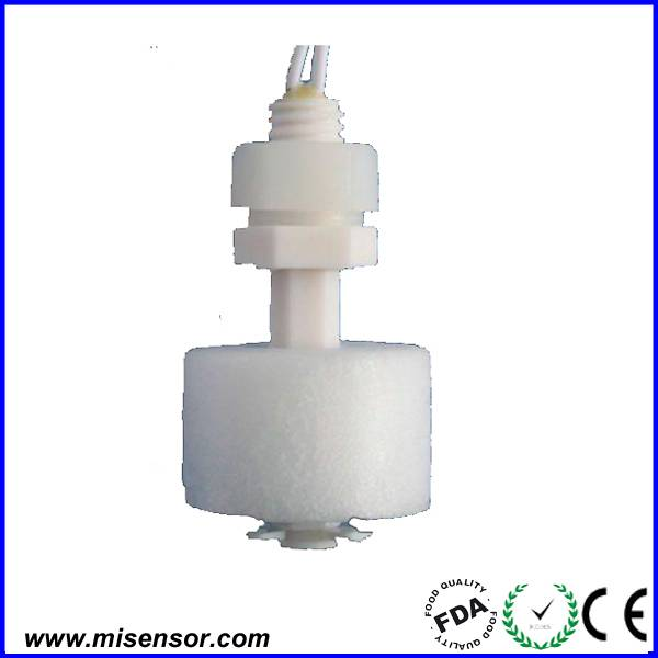 Plastic PP float vertical magnetic level switch